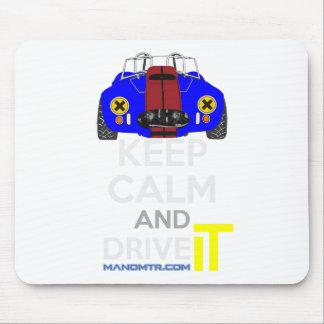 Keep Calm and Drive IT - cod. 1965Cobra427 Mouse Pad
