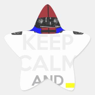 Keep Calm and Drive IT - cod. 1965Cobra427 Star Sticker