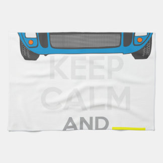 Keep Calm and Drive IT - cod. 1967GT40 Hand Towels