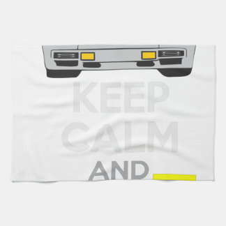 Keep Calm and Drive IT - cod. LCountach Kitchen Towels