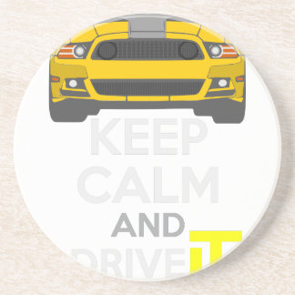 Keep Calm and Drive IT - cod. Mustang302Boss Coaster