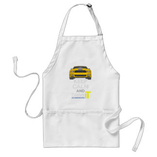 Keep Calm and Drive IT - cod. Mustang302Boss Standard Apron