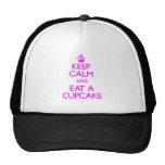 Keep Calm and Eat a Cupcake Cap