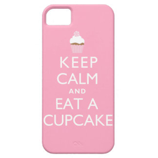 Keep Calm and Eat a Cupcake {pink} iPhone 5 Cover