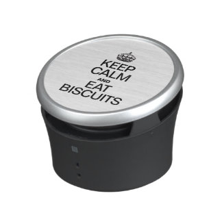KEEP CALM AND EAT BISCUITS SPEAKER