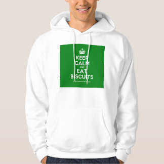 Keep Calm and Eat Biscuits Hoodie