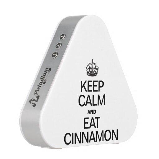 KEEP CALM AND EAT CINNAMON BLUETOOTH SPEAKER