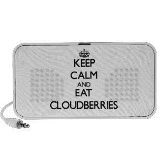 Keep calm and eat Cloudberries Mini Speakers