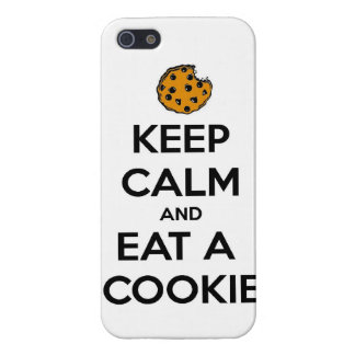 keep calm and eat cookie cookies chocolate chips j iPhone 5/5S case