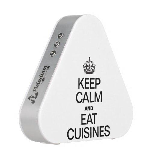 KEEP CALM AND EAT CUISINES BLUETOOTH SPEAKER