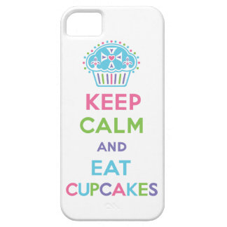 Keep Calm and Eat Cupcakes 1 pastel iPhone 5 Case For The iPhone 5