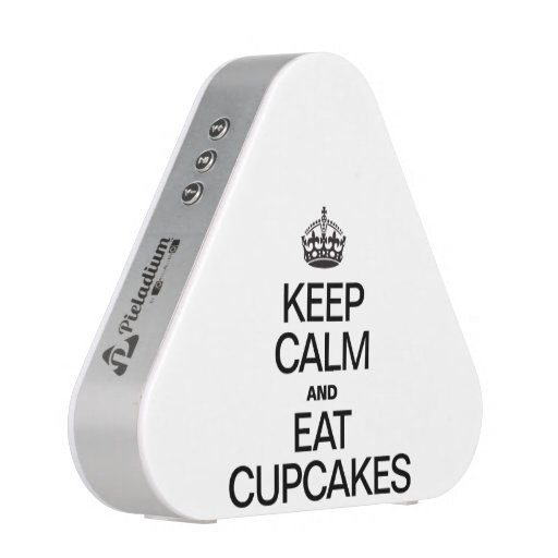 KEEP CALM AND EAT CUPCAKES BLUETOOTH SPEAKER