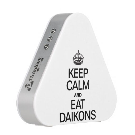 KEEP CALM AND EAT DAIKONS BLUETOOTH SPEAKER
