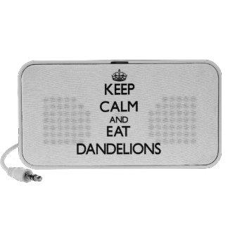Keep calm and eat Dandelions Travel Speakers