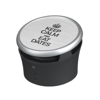 KEEP CALM AND EAT DATES BLUETOOTH SPEAKER