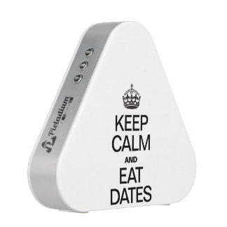 KEEP CALM AND EAT DATES SPEAKER