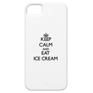 Keep calm and eat Ice Cream iPhone 5 Covers