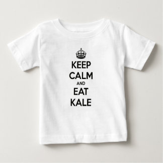 KEEP CALM AND EAT KALE BABY T-Shirt