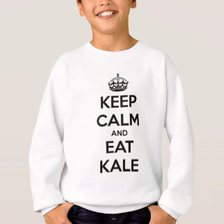 KEEP CALM AND EAT KALE SWEATSHIRT
