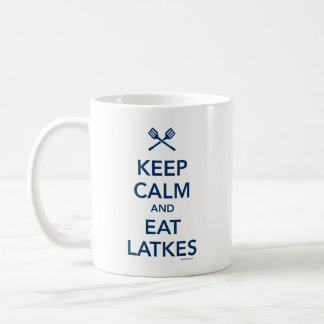 Keep Calm and Eat Latkes Mug