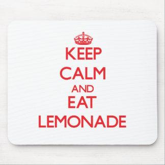 Keep calm and eat Lemonade Mouse Pad