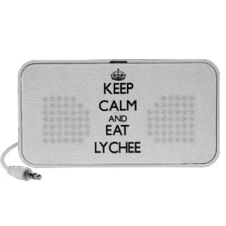 Keep calm and eat Lychee Travelling Speaker