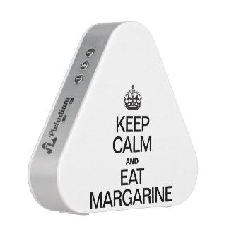 KEEP CALM AND EAT MARGARINE