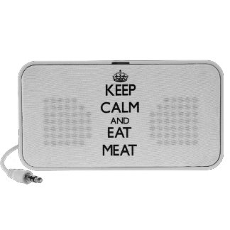 Keep calm and eat Meat Mp3 Speaker