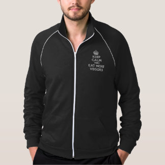 Keep Calm And Eat More Veggies Jacket
