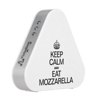 KEEP CALM AND EAT MOZZARELLA