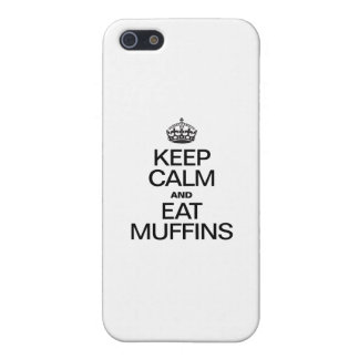KEEP CALM AND EAT MUFFINS CASE FOR iPhone 5