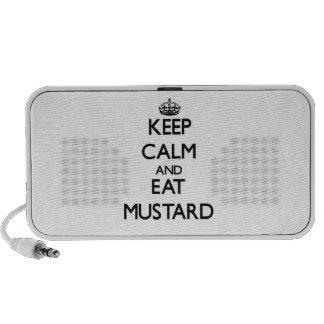 Keep calm and eat Mustard Mini Speakers