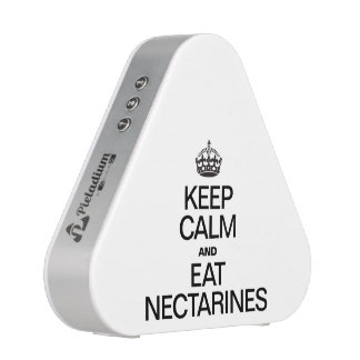 KEEP CALM AND EAT NECTARINES BLUETOOTH SPEAKER