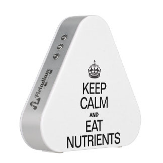 KEEP CALM AND EAT NUTRIENTS.ai Speaker
