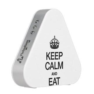 KEEP CALM AND EAT BLUETOOTH SPEAKER