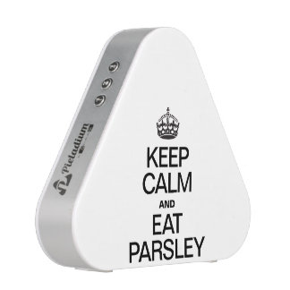 KEEP CALM AND EAT PARSLEY BLUETOOTH SPEAKER
