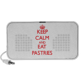 Keep calm and eat Pastries Travelling Speaker