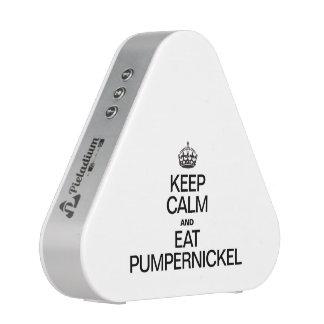 KEEP CALM AND EAT PUMPERNICKEL