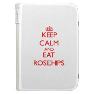 Keep calm and eat Rose-Hips Kindle Cover