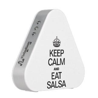 KEEP CALM AND EAT SALSA
