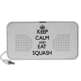 Keep calm and eat Squash Mini Speaker