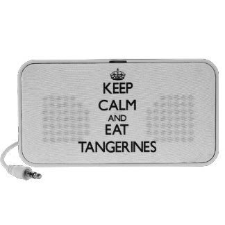 Keep calm and eat Tangerines Speaker System