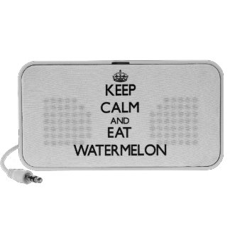 Keep calm and eat Watermelon Portable Speaker
