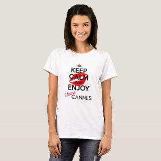 Keep Calm and Enjoy Cannes version 1 (Women) T-Shirt