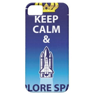 Keep Calm and Explore Space iPhone 5 Case