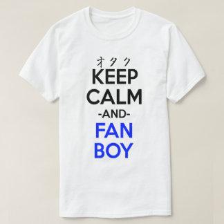 Keep Calm And Fanboy Shirt