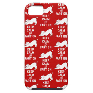 Keep Calm and Fart On with the cute French Bulldog iPhone 5 Cases