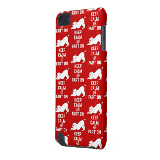 Keep Calm and Fart On with the cute French Bulldog iPod Touch 5G Cases