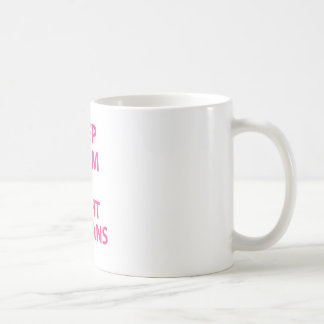 Keep Calm and Fight Villians Coffee Mug