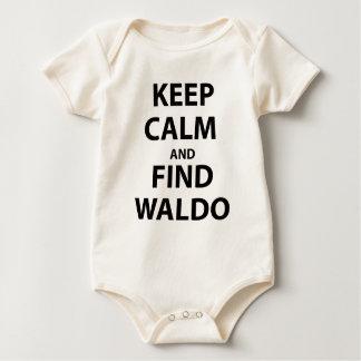 Keep Calm and Find Waldo Baby Bodysuit